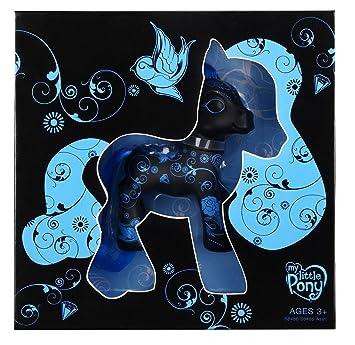 Collector 2008 My Little Pony/Mon Petit Poney Noir/Turquois Edition Spéciale