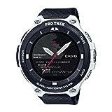 Casio Men's 'PRO TREK' Quartz Resin Outdoor Smartwatch, Color Black (Model: WSD-F20-WECAU) (Color: Black/White)