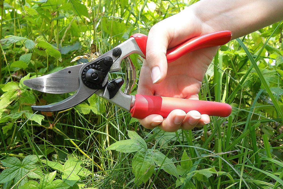 Felco F-7 Gardening Hand Pruner with Rotating Handle