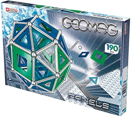 Geomag - 6824 - Jeu de Construction - Kids Panels - 190 Pièces