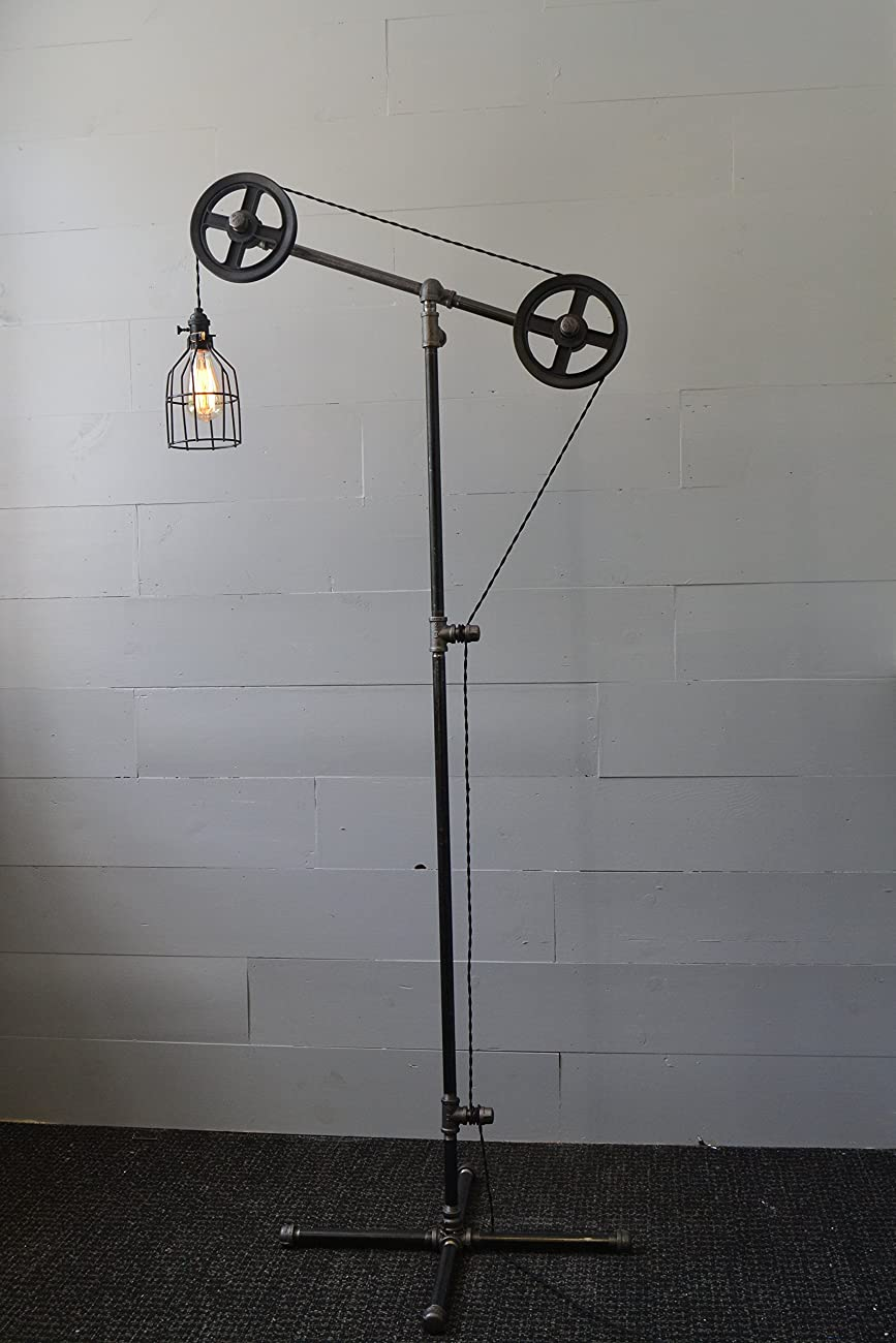 Industrial Floor Lamp 4