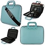 SumacLife Cady Shoulder Bag Briefcase for HP Pavilion X2 13.3 inch Laptops (Color: Blue, Tamaño: 13.3