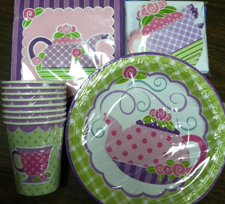 Tea Party Dinner Plates