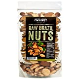 Raw Brazil Nuts 32oz (2 Pounds) Distinct and Superior to Organic, No PPO, Probiotic, Large,Fresh and Reasealable bag (Tamaño: 7 x 11 x 3)