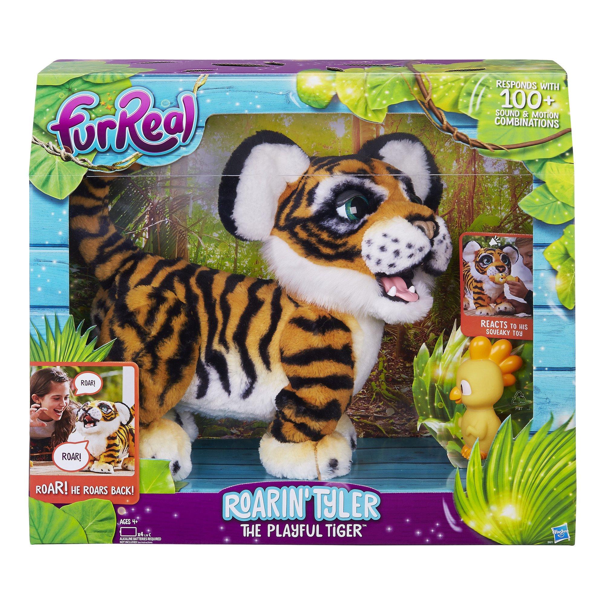 Playful Roarin Tyler Furreal Tiger