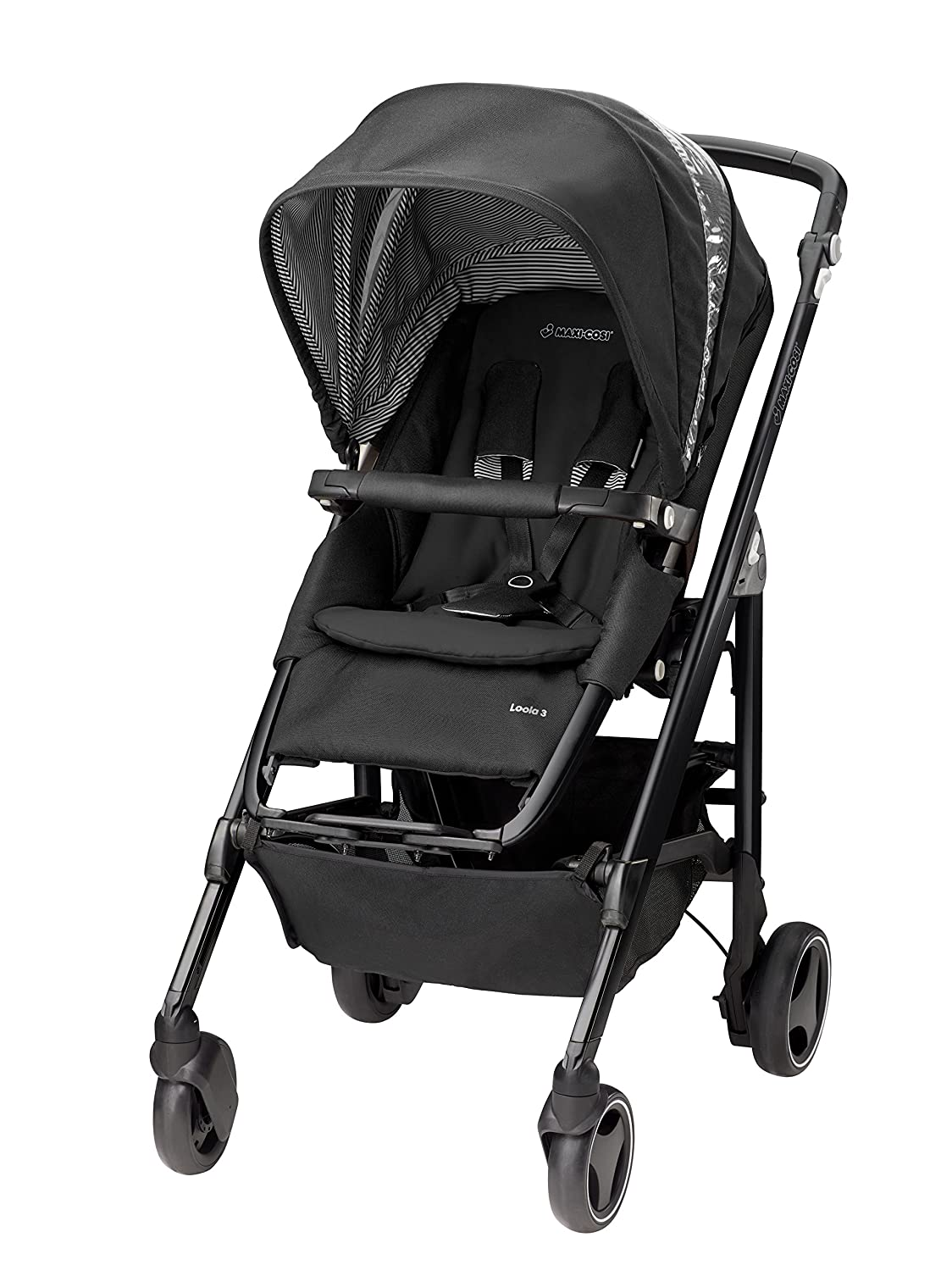 Maxi-Cosi Loola 3 Black Frame Pushchair