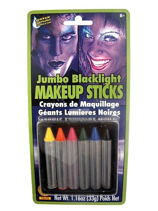 Rubies Jumbo Blacklight Makeup Sticks