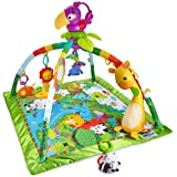 Fisher-Price Music & Lights Deluxe Gym, Rainforest (Color: Rainforest)
