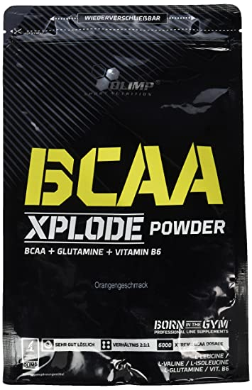 Olimp BCAA Xplode Powder Orange, 1er Pack (1 x 1 kg)