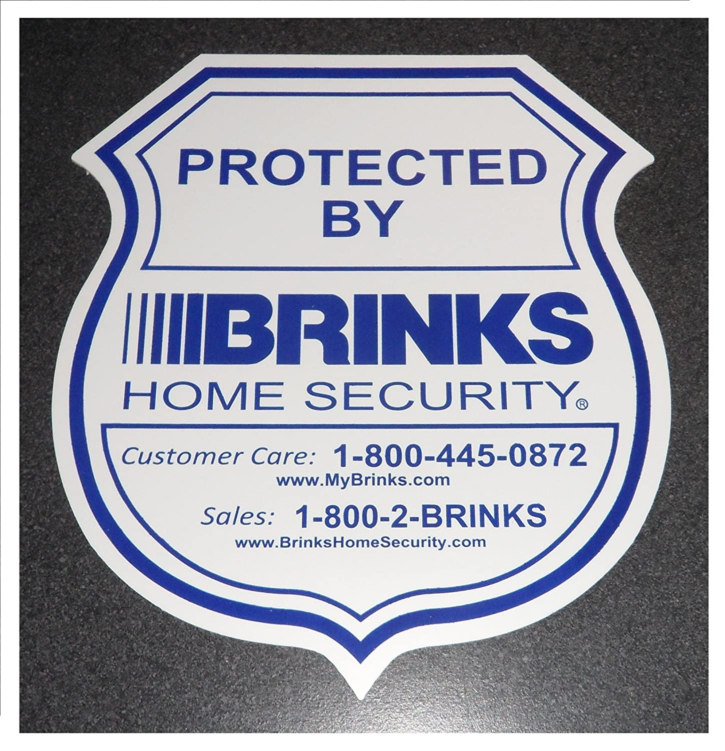 Buy adt home security signs 1 brinks home security sign for Brinks home security