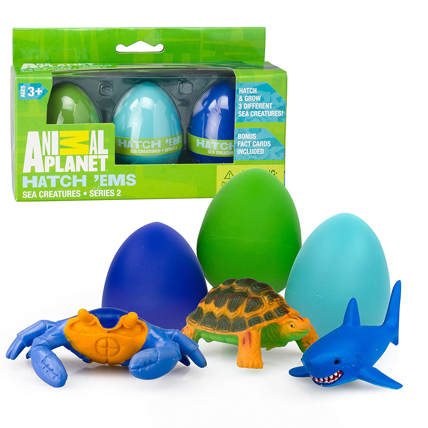 Great easter gifts for toddler boys age 2 to 4 gift canyon hatch in water marine animals easter eggs negle Images