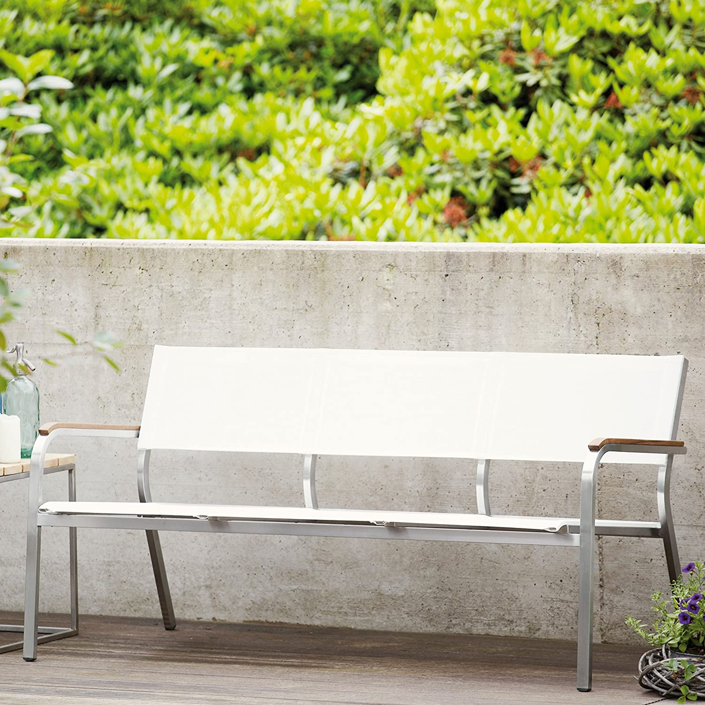 Lux XL Lounge Bank 3-Sitzer weiß / 156 x 70 cm kaufen