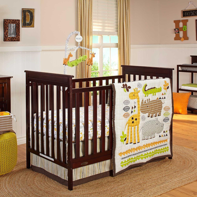 Nojo Zoobilee Crib Beddign