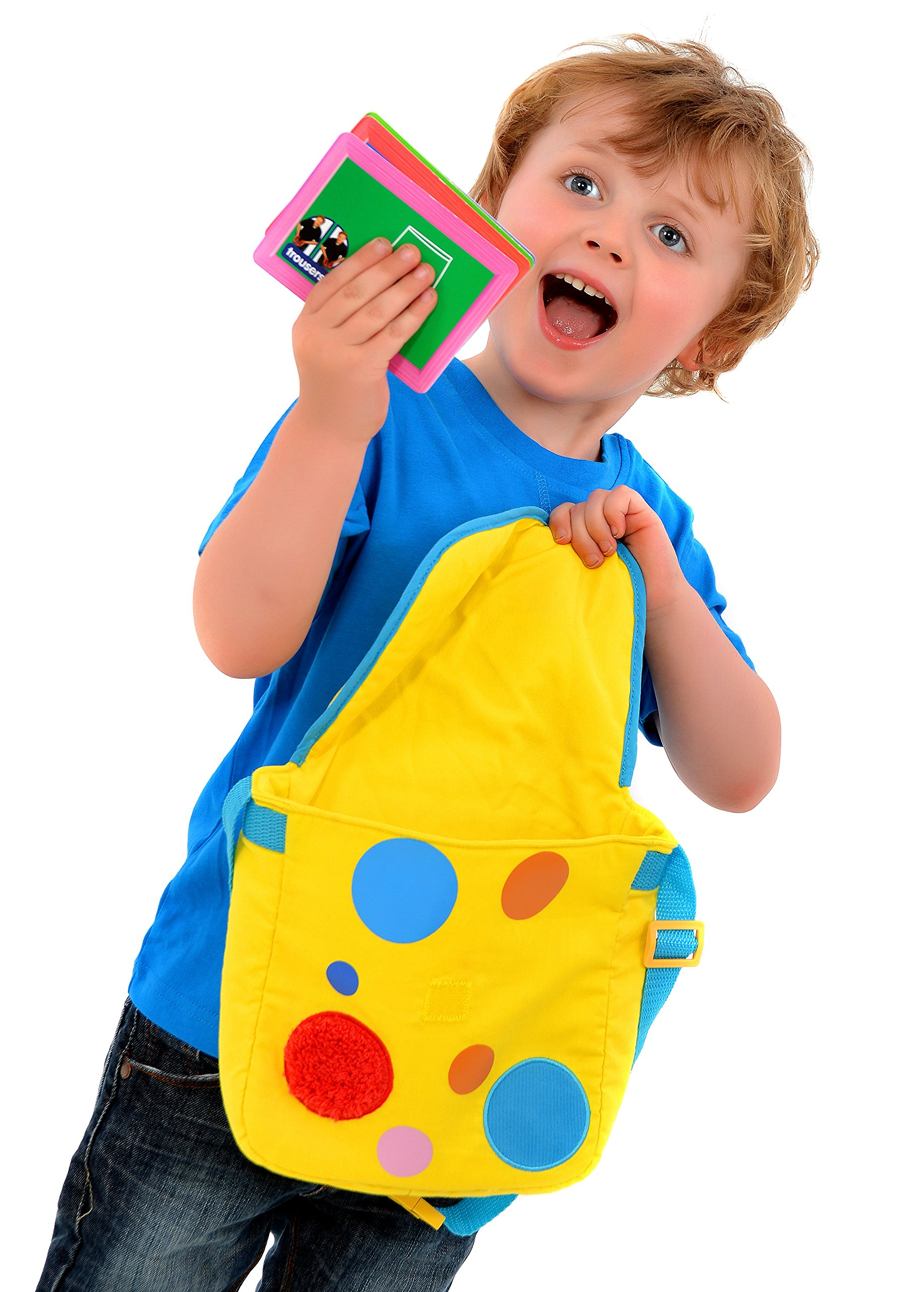 Something special mr tumble textured spotty bag with - Something special ...