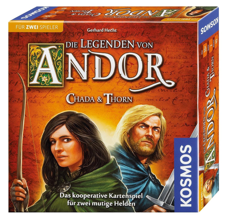 KOSMOS Die Legenden von Andor 692537 – Chada und Thorn, Spiel für zwei günstig kaufen