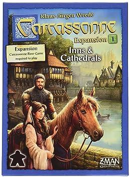 Carcassonne: Auberges et Cathédrales - Jeu de société