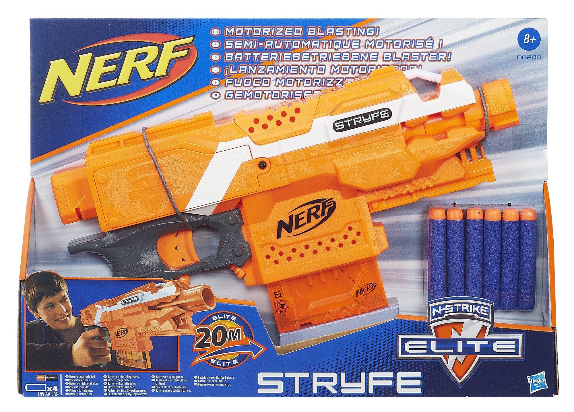 Nerf stryfe blaster classic 1 ebay for Nerf motorized rapid fire blasting