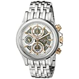 Bulova Men's Stainless Steel Automatic Watch (Model: 65B153)