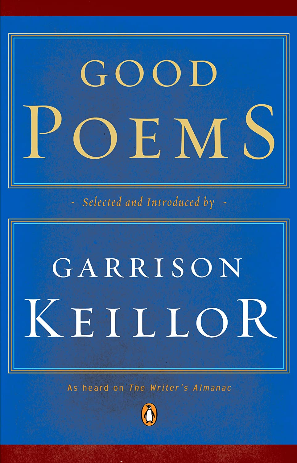 Keillor Good Poems Amazon Com Good Poems Ebook