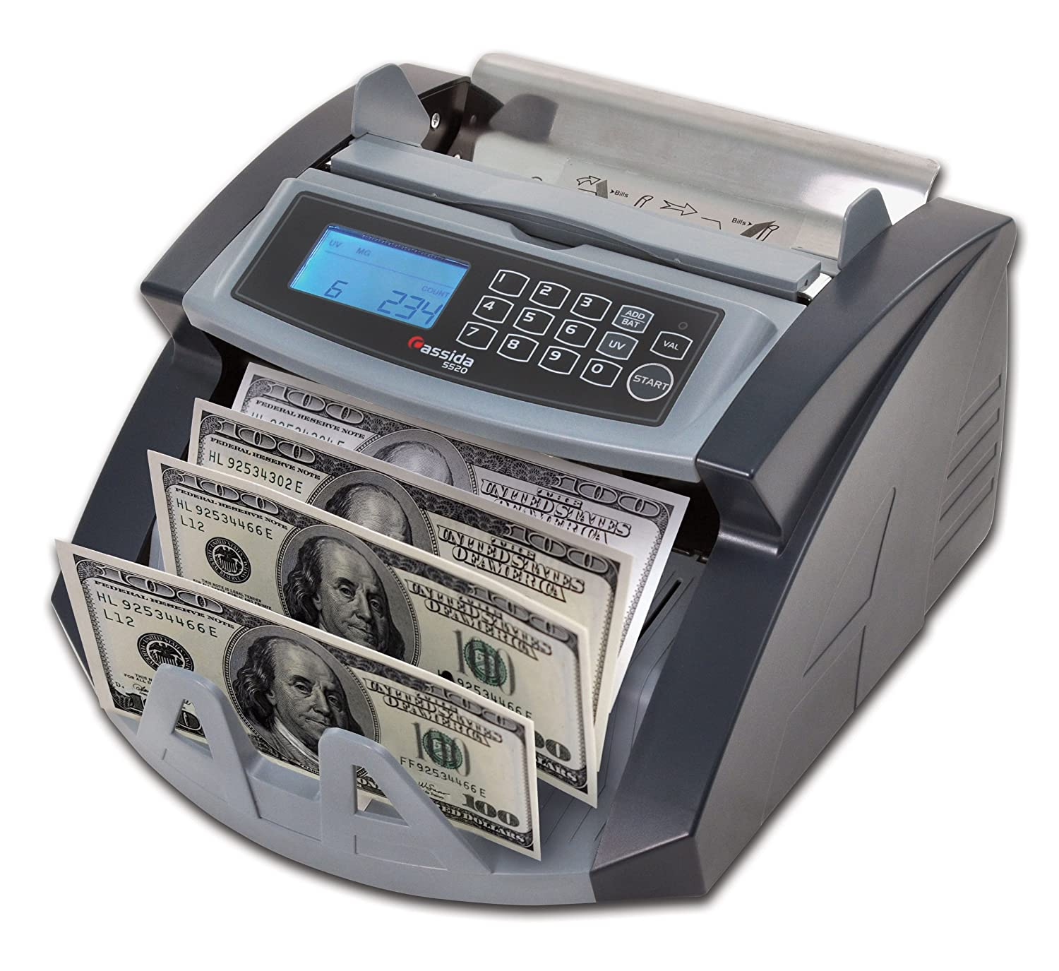 Money currency counter machine professional counting bank sorter bill cash bills ebay - Coin bank that counts money ...