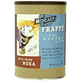 MOCAFE Frappe Wild Tribe Moka Ice Blended Coffee, 3-Pound Tin Instant Frappe Mix, Coffee House Style Blended Drink Used in Coffee Shops