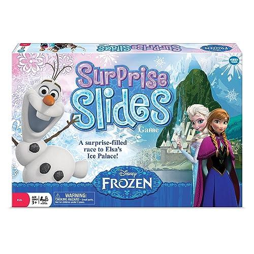 Disney Frozen Surprise Slides! Game