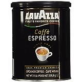Lavazza Ground Coffee - Caffe Espresso - 8 oz - 2 pk (Color: Basic Pack, Tamaño: 8 oz)