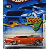 Hot Wheels First Editions #32 2002-042 '64 (1964) Red Riviera Purple Windows Race/Win Card 1:64 Scale
