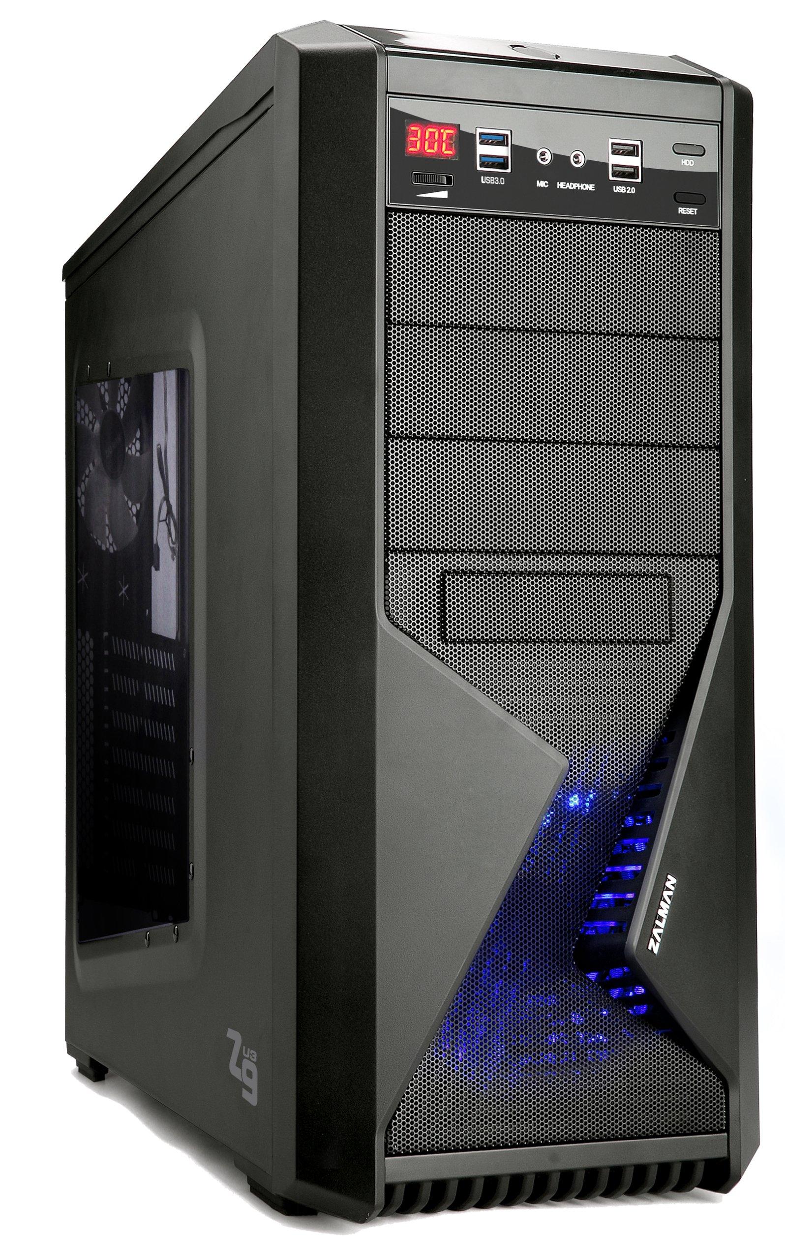 ZALMAN ATXミドルタワー PCケース Z9 USB3.0搭載モデル Z9U3 ブラック (Z9Plus後継モデル) 日本正規代理店品 (CS3899) Z9U3