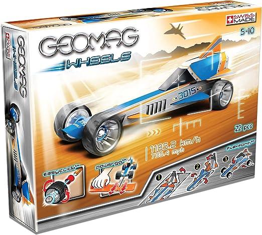 Jeux de construction d'une voiture GEOMAG (22 pièces)