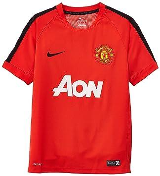 2014 15 Man Utd Nike Training Jersey (Red) Kids