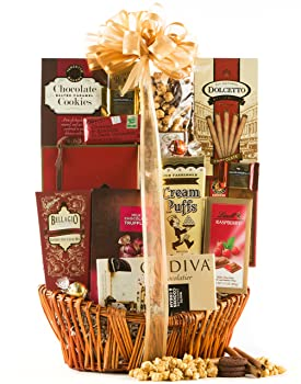 Wine Chocolate Decadence Gift Basket