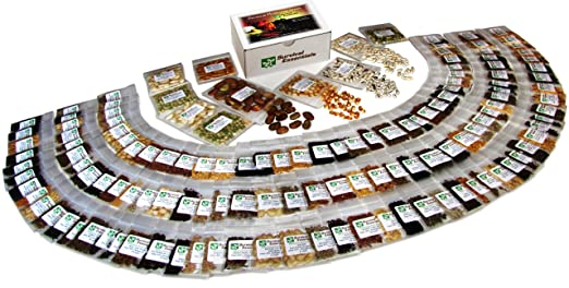 135 Variety Organic Heirloom Survival Seed Bank - Emergency Seed Vault - Non GMO - Non Hybrid - ALL IN ONE: Vegetables - Fruits - Culinary Herbs - Medicinal Herbs - Sprouting Seeds ~ 135 VARIETIES - PLUS: Nine Rare Heirloom Tomato Varieties FREE! - FANTASTIC GIFT IDEA!