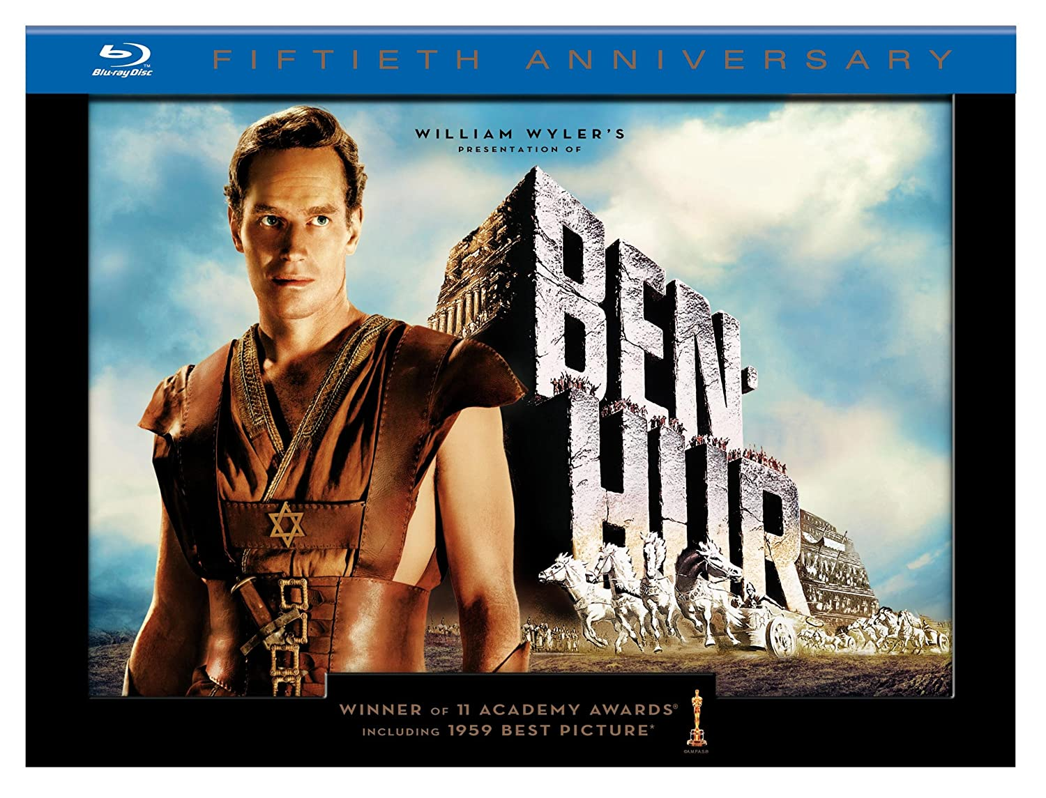 Ben-Hur (50th Anniversary Ultimate Collector's Edition) [Blu-ray] $26.49