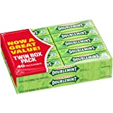 Wrigley's Doublemint Chewing Gum, 5-count (40 Packs) (Tamaño: 5-Piece Pack (40 Packs))