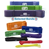 Pull up Bands - Set of 3, Heavy Duty Resistance Bands, Mobility Bands for Cross training, Exercise Bands for Gymnastics and Powerlifting Pull up Assist Bands (Bundle #3 Purple & #4 Green & #5 Blue) (Color: Bundle #3 Purple & #4 Green & #5 Blue)