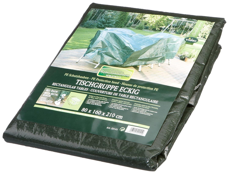 Videx 22141 PE- Schutzhaube für Tischgruppe rechteckig, grün günstig bestellen