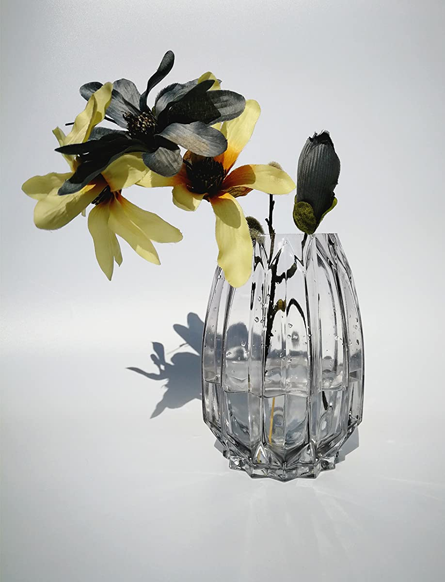 Hometopia Glass Flower Vases for Wedding Centerpieces, Tall Glass ...