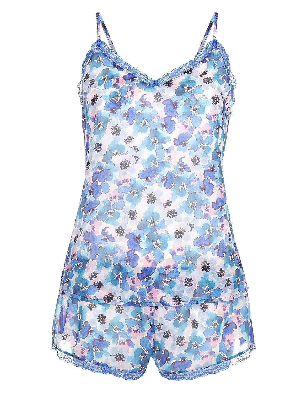 Accessorize Damen Hemdchenset mit malerischem Stiefmütterchenprint bestellen