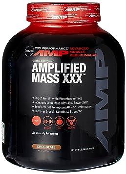GNC Pro Performance AMP Amplified Mass XXX - Chocolate 6 lbs