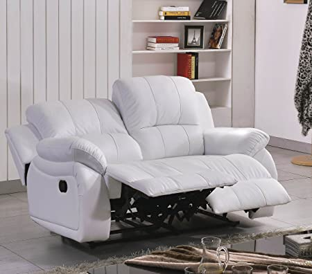 Voll-Leder Couch Sofa Relaxsessel Polstermöbel Fernsehsessel 5129-2-W