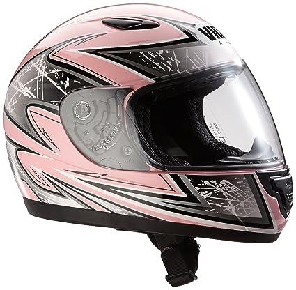 Protectwear SA03-PK-XS Casque de Moto pour Enfant, Rose, Taille XS