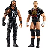 WWE Tough Talkers Roman Reigns & Triple H Figure, 2 Pack (Color: Deep Brown)