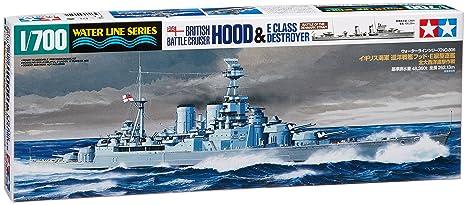 Tamiya - 31806 - Maquette - Bateau - Destroyers Hood /class E