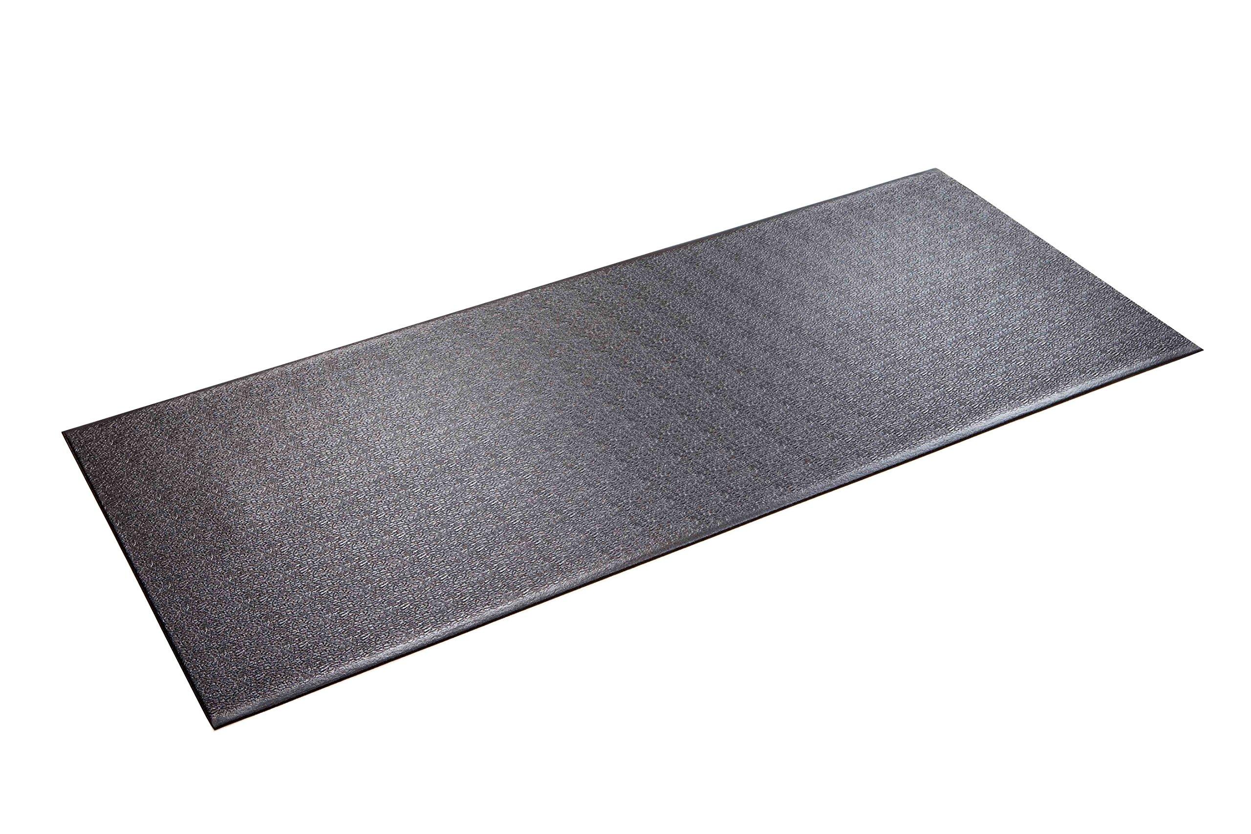 Heavy Duty Supermats Pvc 2 5 X 6 Feet Gym Exercise Treadmill Mat Ski Machine Ebay