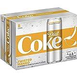 Diet Coke Sleek Can, Twisted Mango, 12 Fluid Ounce (Pack of 8) (Tamaño: 12 Fluid Ounce (Pack of 8))