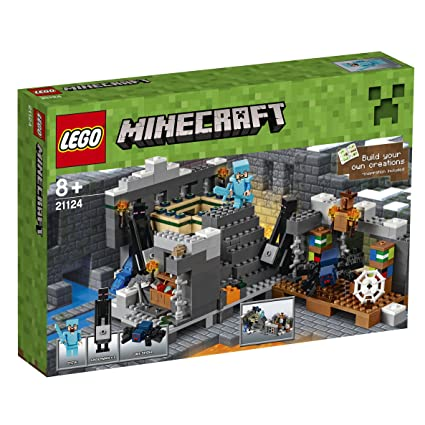 LEGO - 21124 - Minecraft - Jeu de Construction - Le Portail de L'air
