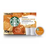 Starbucks Pumpkin Spice Flavored Single-Cup Coffee for Keurig Brewers, 6 Boxes of 10 (60 Total K-Cup Pods) (Color: Orange, Tamaño: 60 Count)