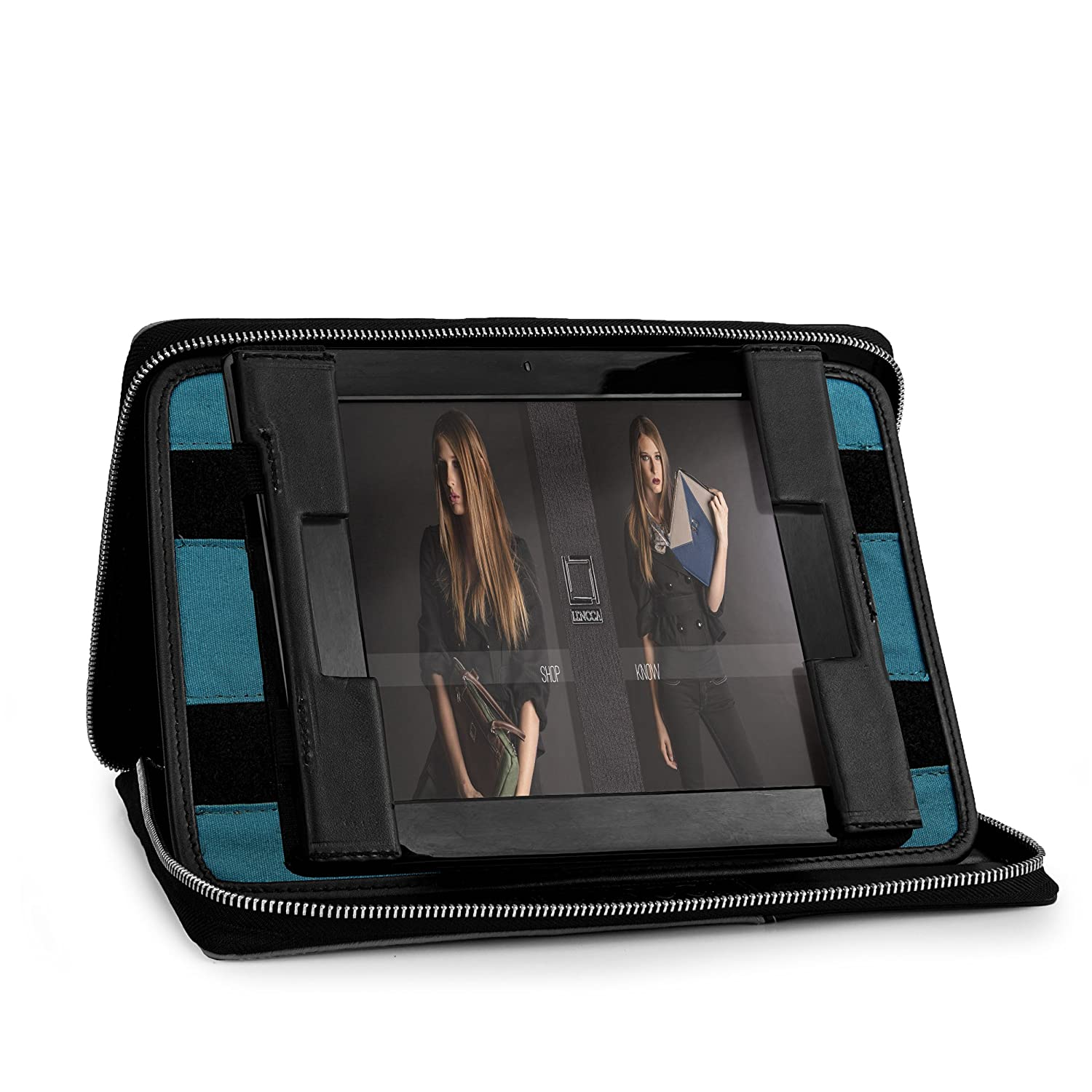 Lencca Brand Minky Collection Tablet Portfolio Cover for All Models & Generations of the Lenovo ThinkPad, IdeaTab Tablets with Universal Fit up to 11.25 Inches