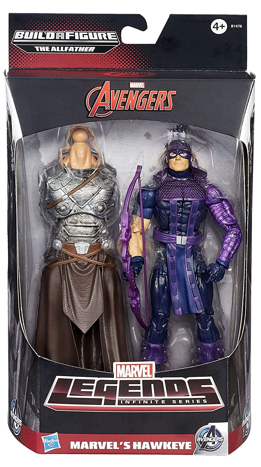 DISNEY Marvel Legends Infinite Actionfigur HAWKEYE – mit Build-A-ODIN Part (Avengers) günstig